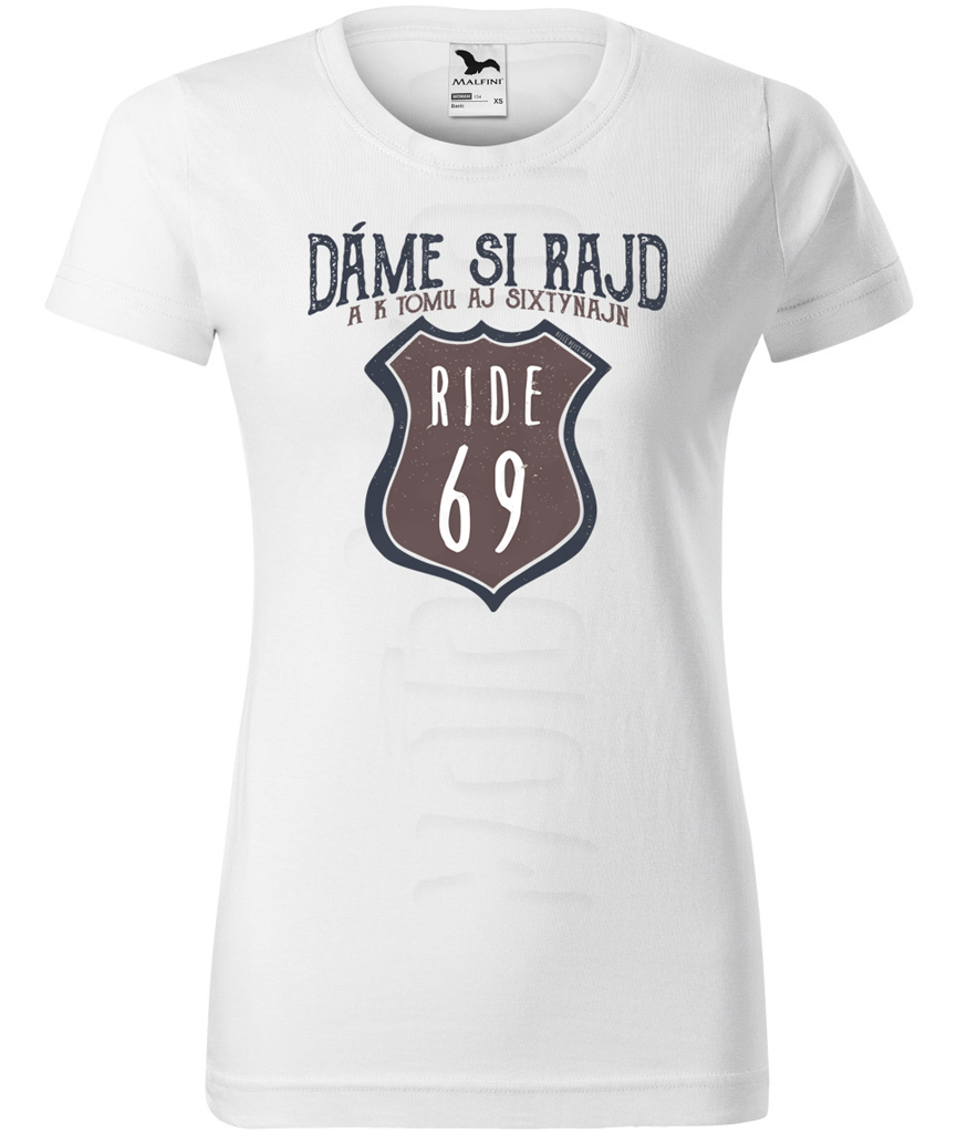 26ea0dca800f Dámske moto tričko – Rajd Sixtynajn